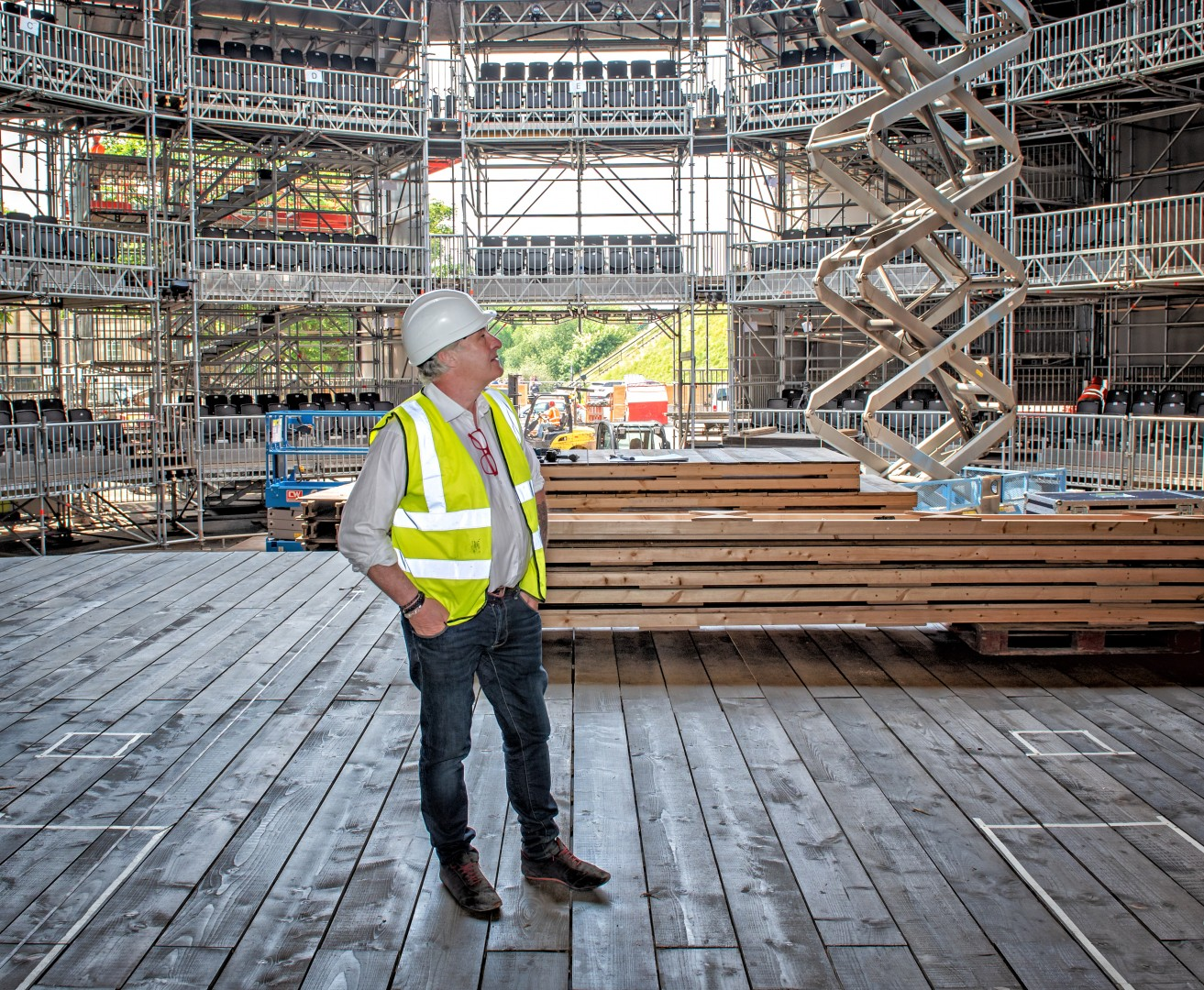 Quintessentially English Shakespeares Rose Theatre Construction