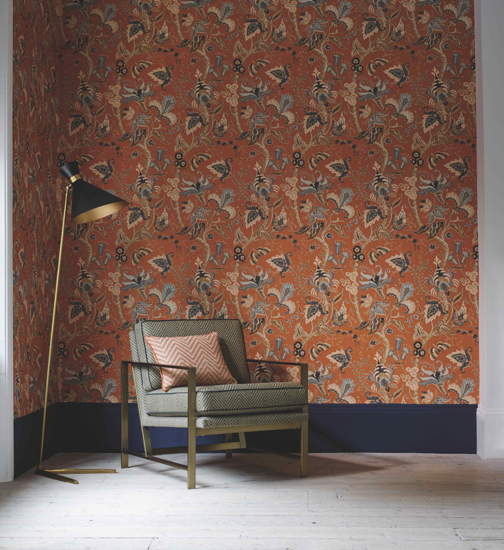 Create a Spice Sensation Linwood Fable Wallpaper