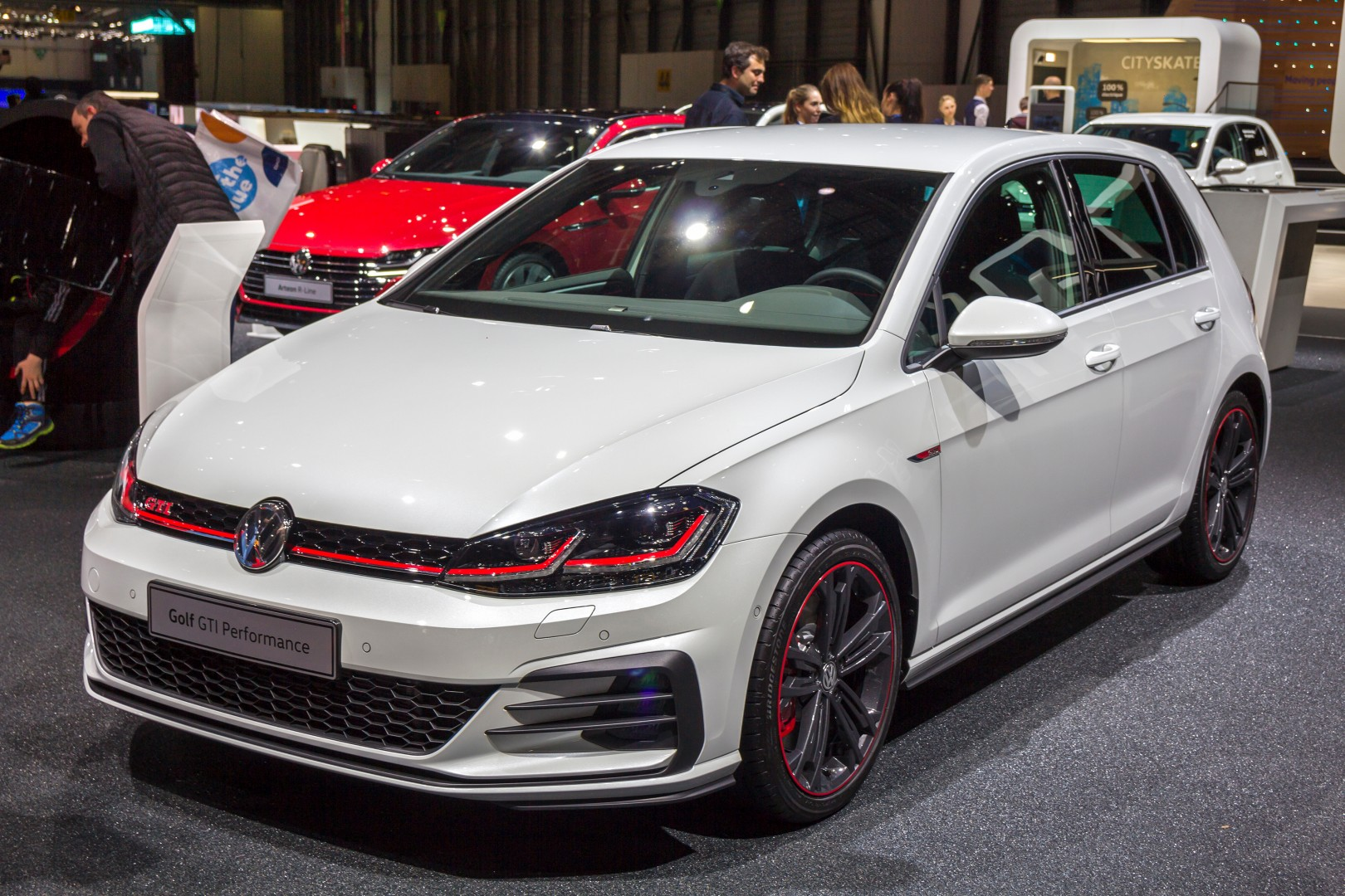 Volkswagen Golf at Geneva International Motor Show