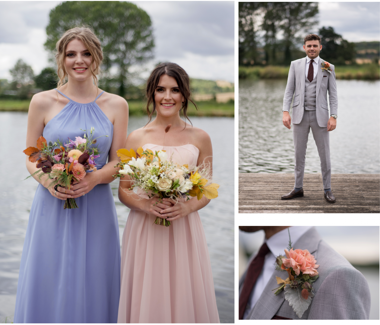 A Drop of Autumnal Glamour Bridesmaids