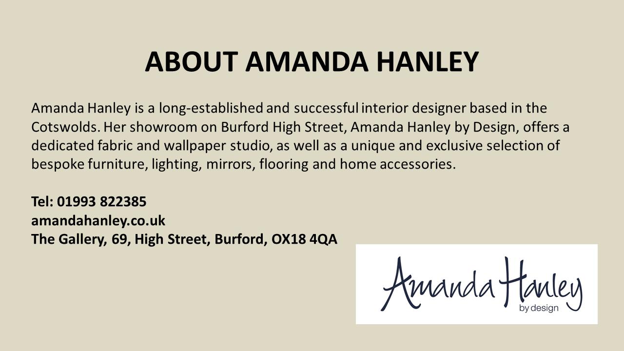 Amanda Hanley Gift Guide Footer