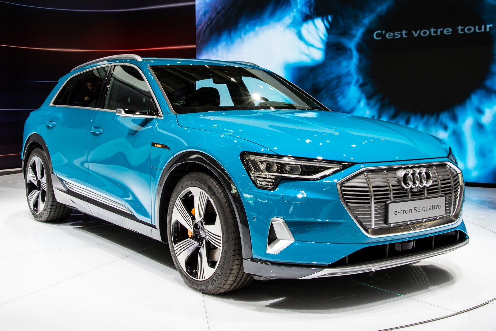 Audi E-Tron at 2018 Paris Motor Show