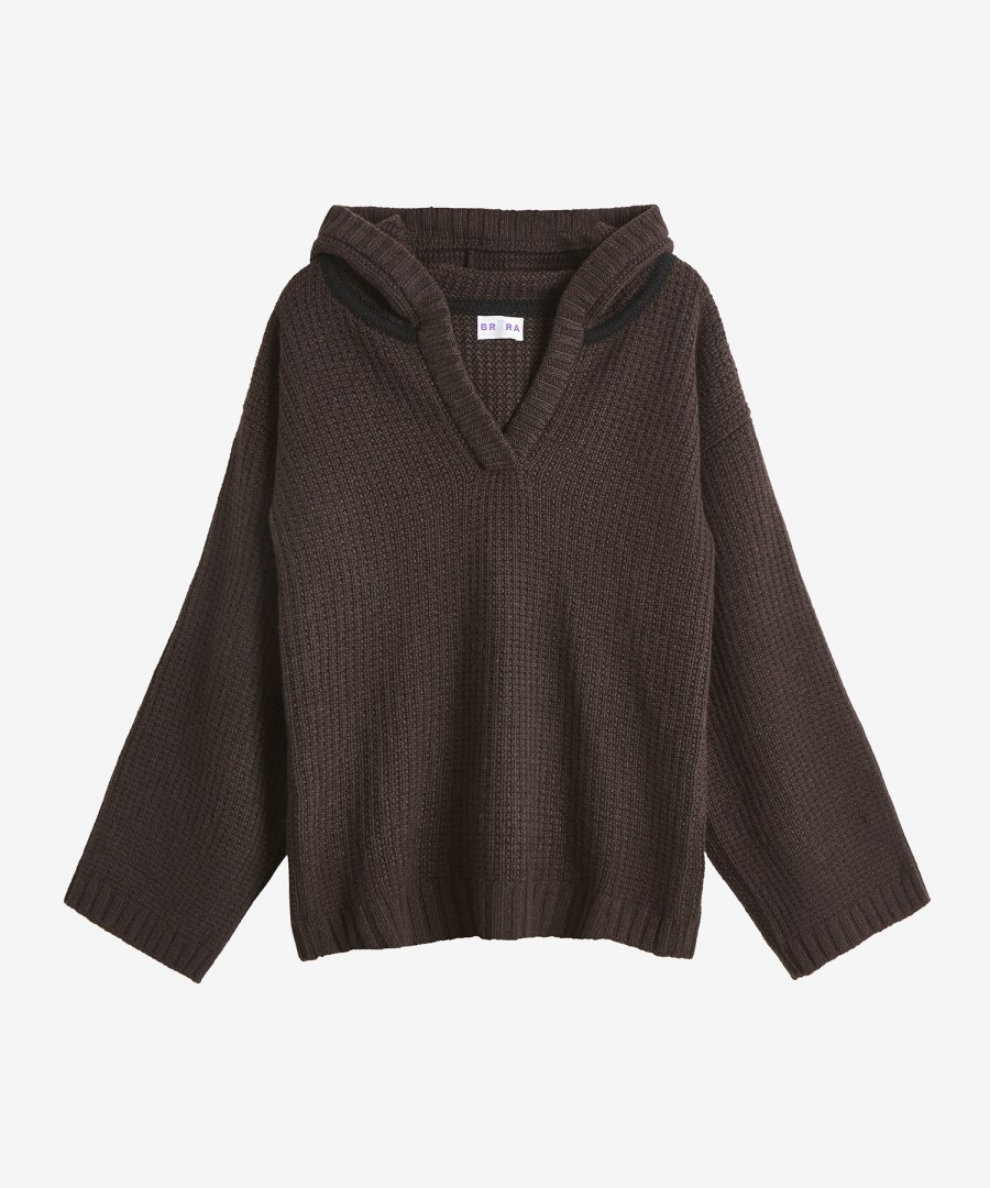 Channelling the Kardashians Brora Sweater