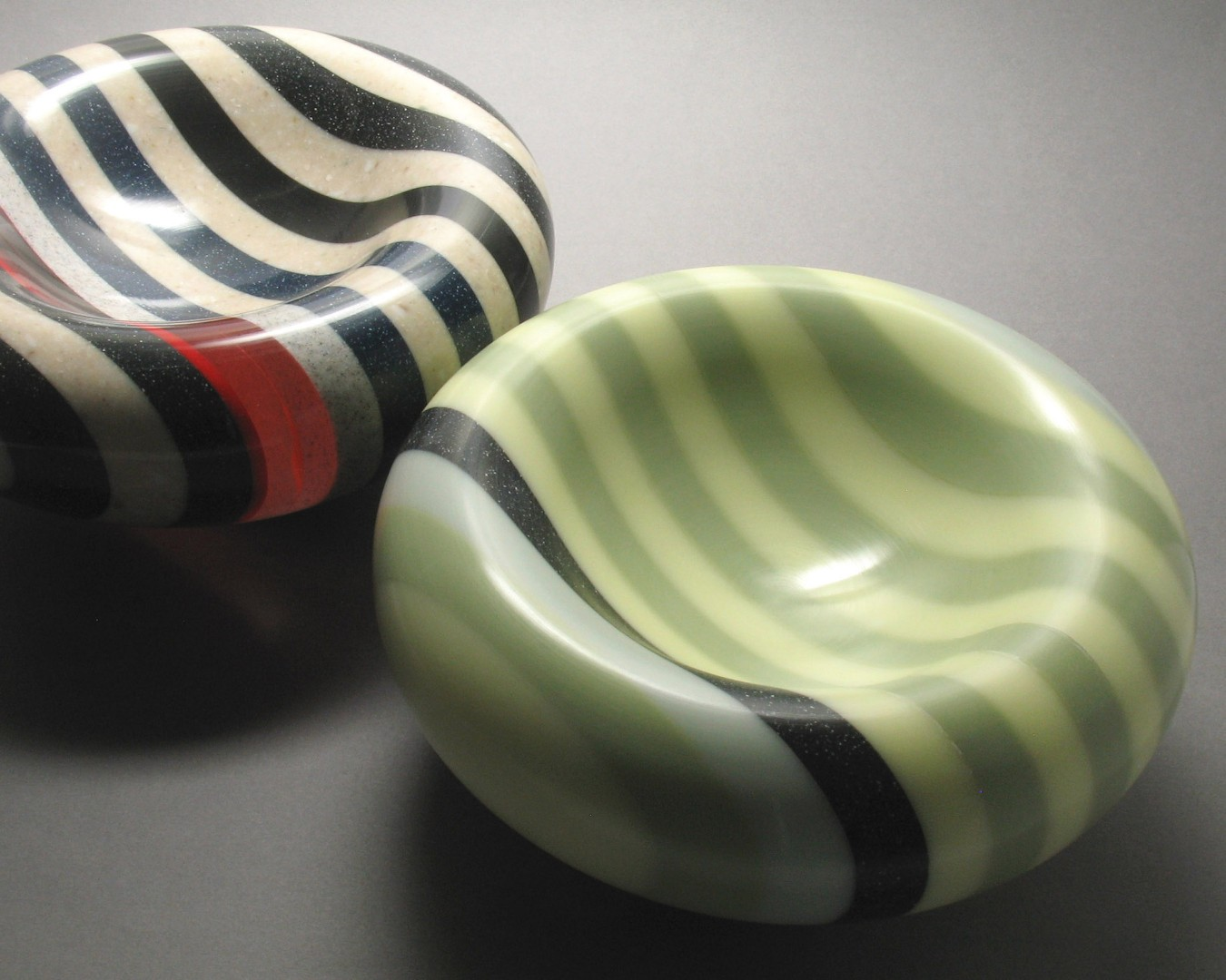 Colourful Countdown to Christmas Graham Lester Corian Bowls