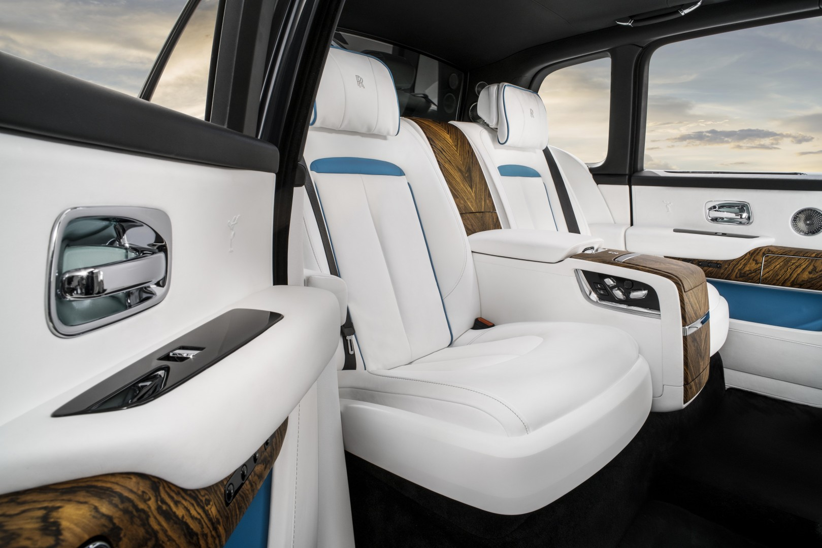 The Ultimate Off Roader Rolls Royce Interior Rear White