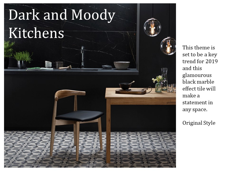 New Year Updates Dark And Moody Kitchens Original Style