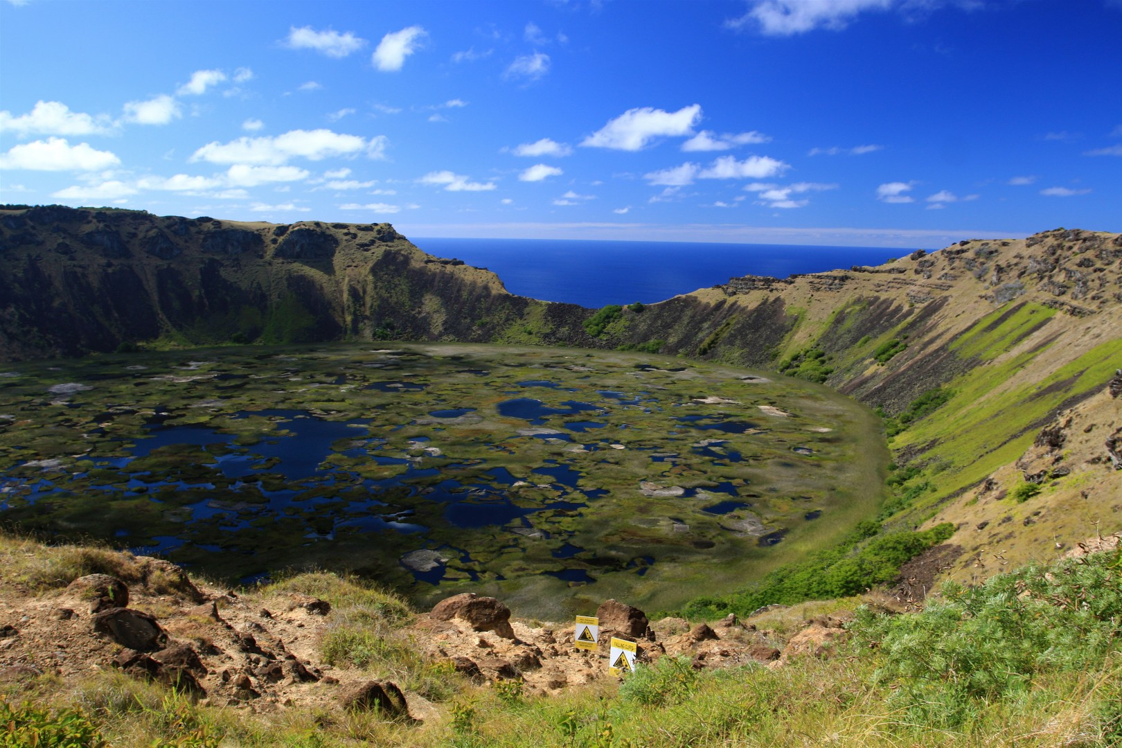 Easter Island The Riddle of the Pacific Rano Raraku