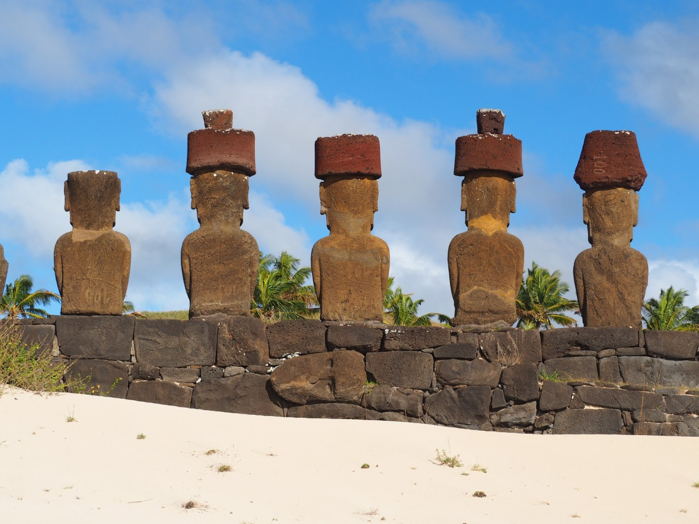 Easter Island The Riddle of the Pacific Ahu Nau on Anakena