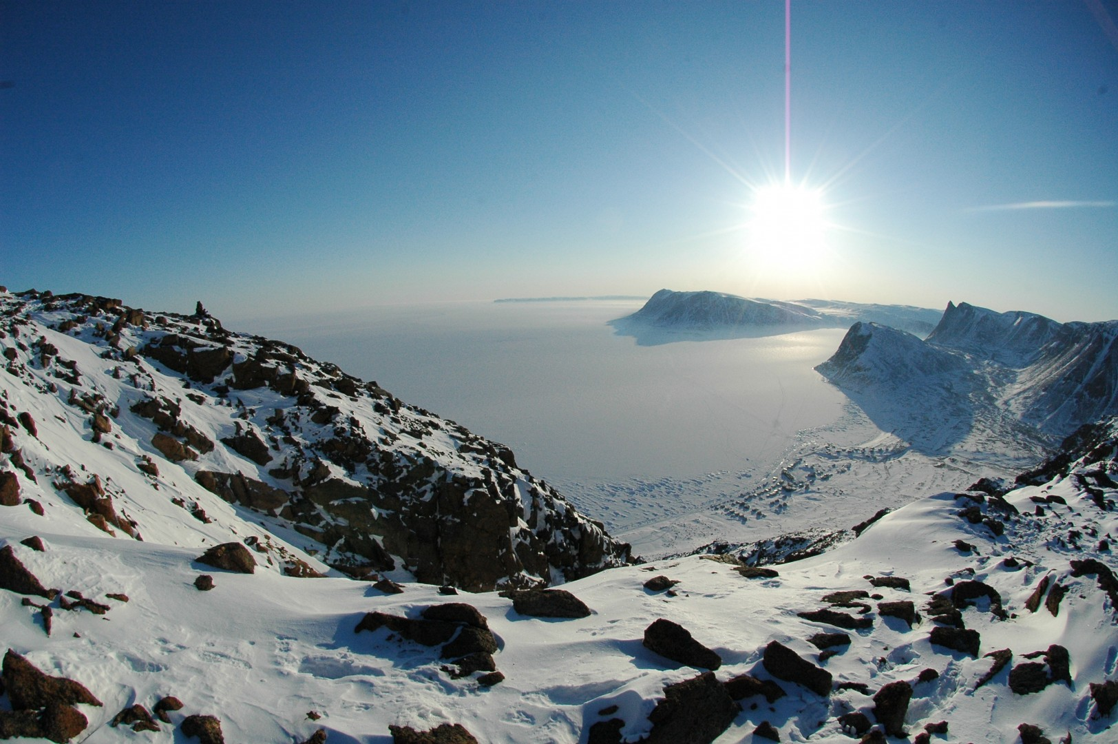 OX Magazine Ellesmere Island Mountains