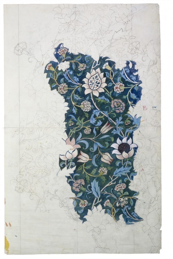The Thames William Morris Evenlode Design