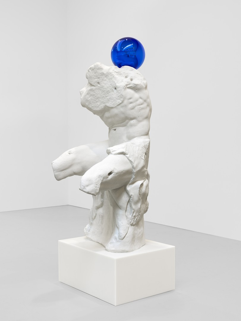 Gazing Ball Belvedere Torso Jeff Koons