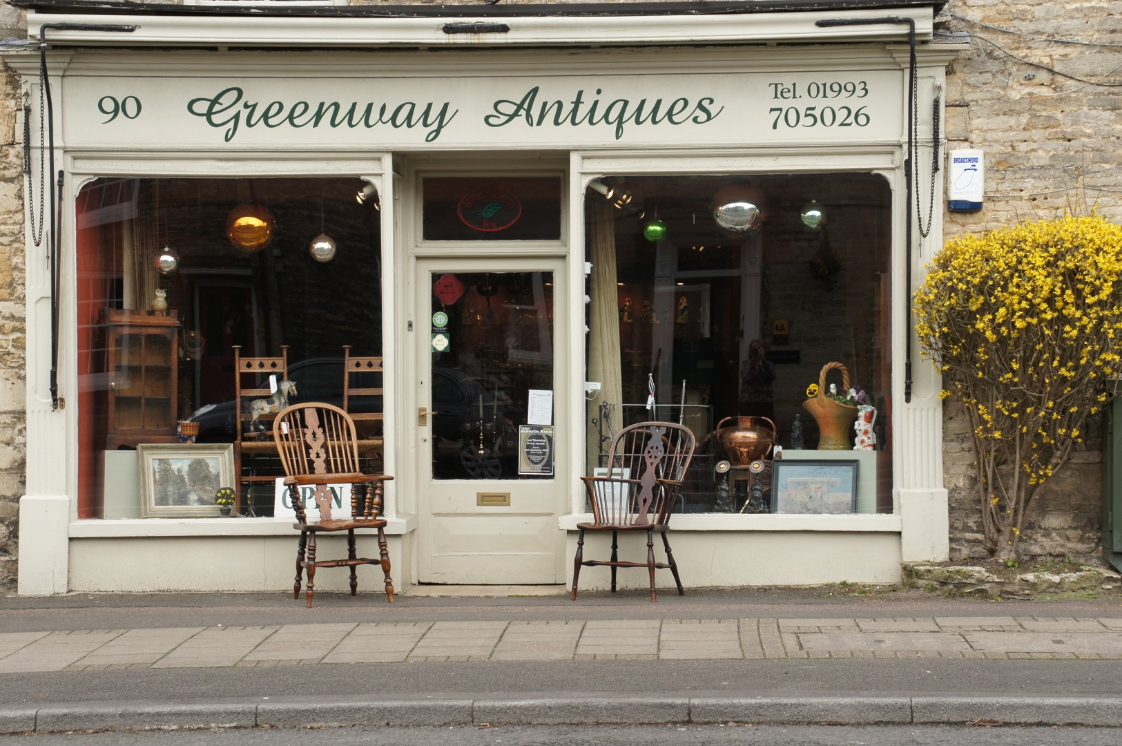 Love your area Witney Greenway Antiques