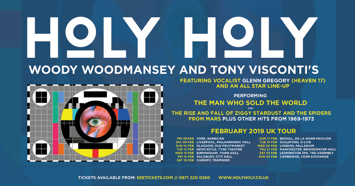 Woody Woodmansey on Holy Holy Tour Dates