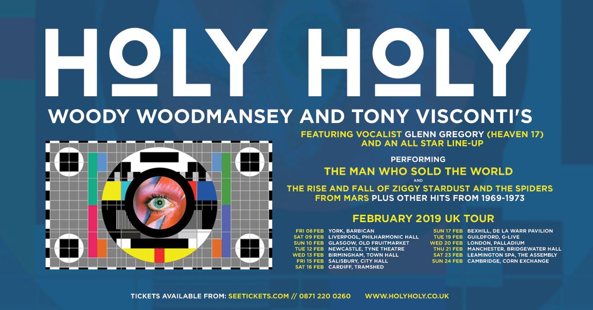 Woody Woodmansey on Holy Holy Tour Dates