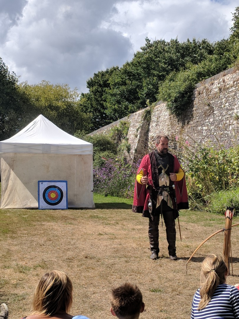 Medieval mayhem at Oxford Castle Quarter