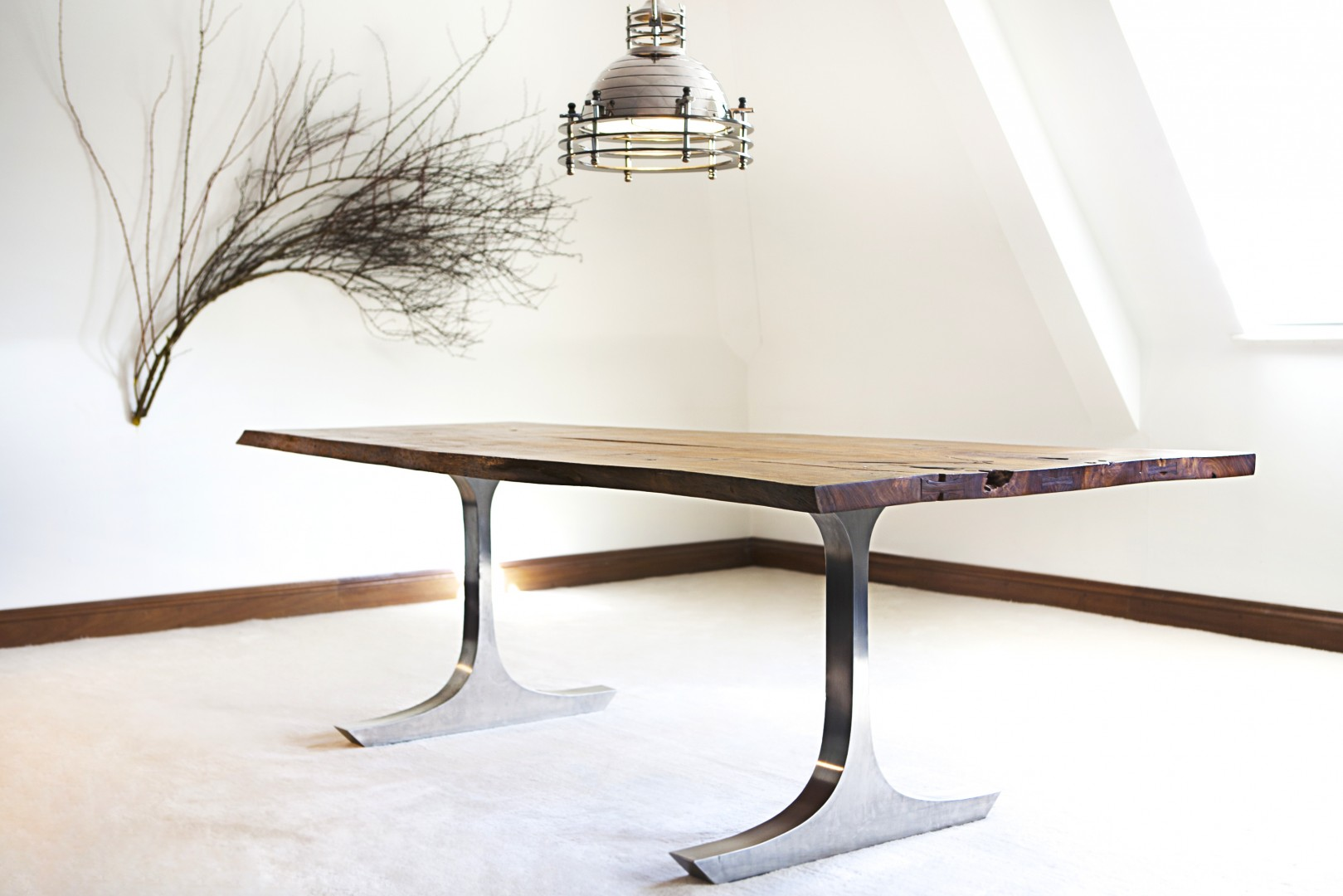 Neil Scott Bespoke Furniture The Anchor Dining Table