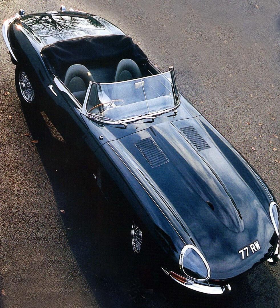 Cars as Art Jaguar E-Type