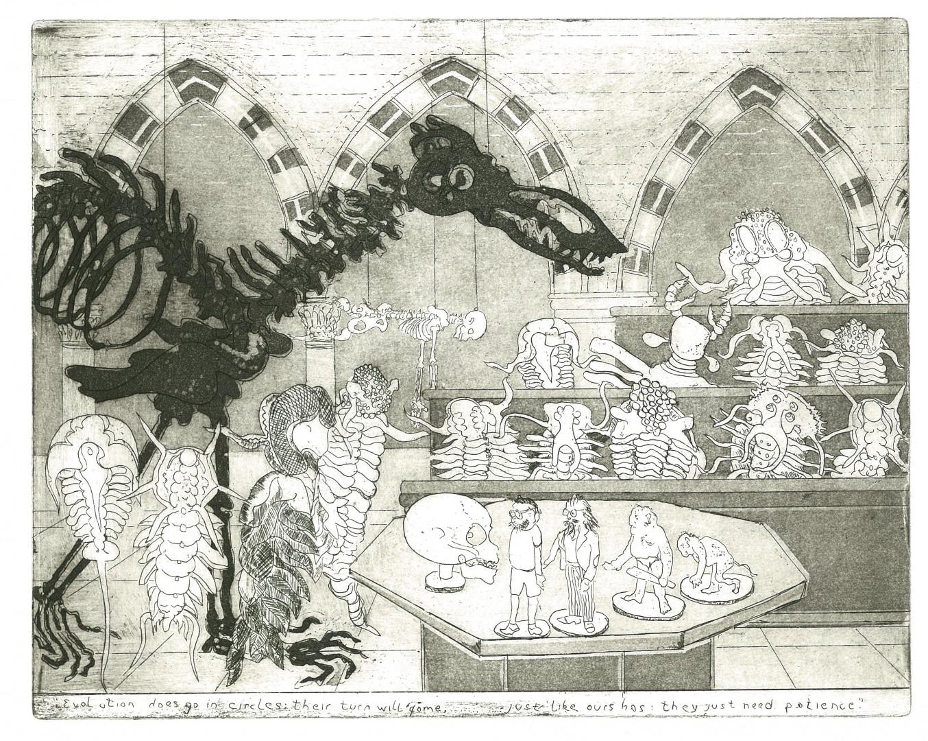 Professor Trilobite's Lecture by John Dew