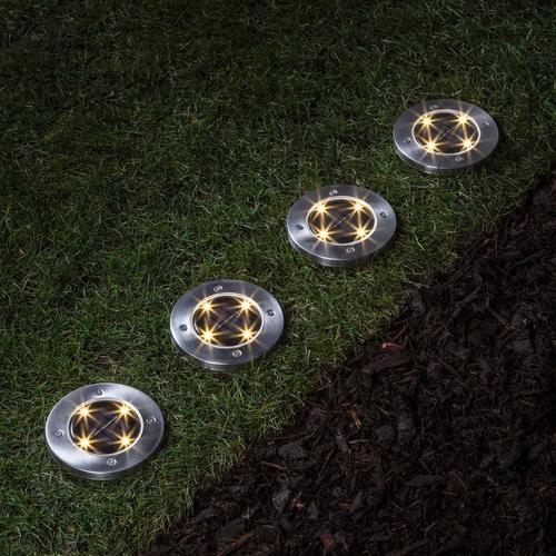 Lights4fun Warm White Solar Path Lights