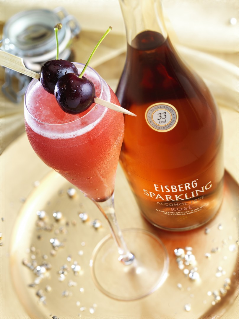 Eisberg Alcohol-Free Wine Ma Petite Cheri Cocktail