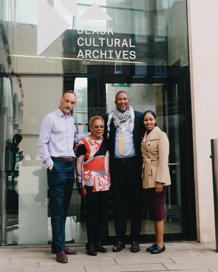 Mandela Message Lives On Nkosi Zwelivelile Black Cultural Archives