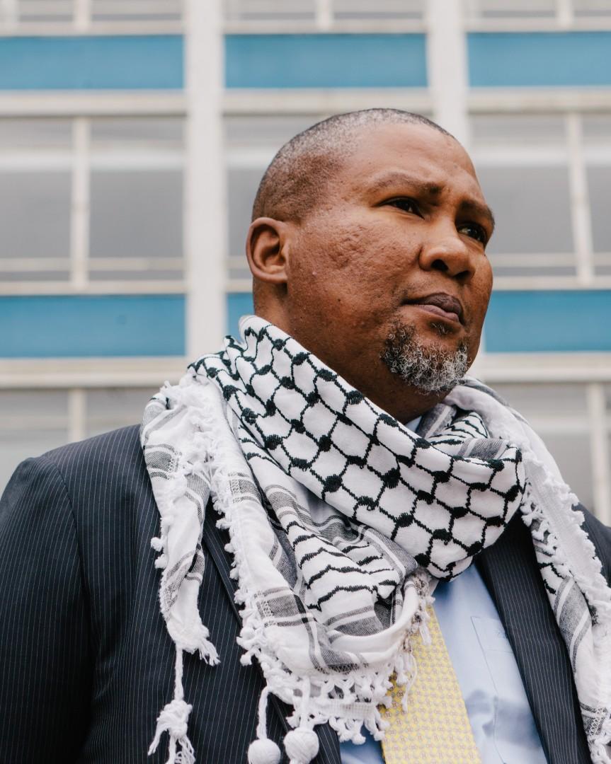 Nkosi Zwelivelile Mandela Brixton towerblock