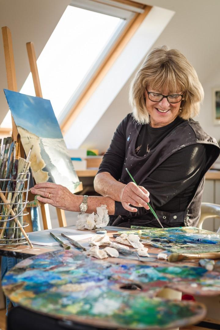 Portrait of an Artist Maureen Gillespie