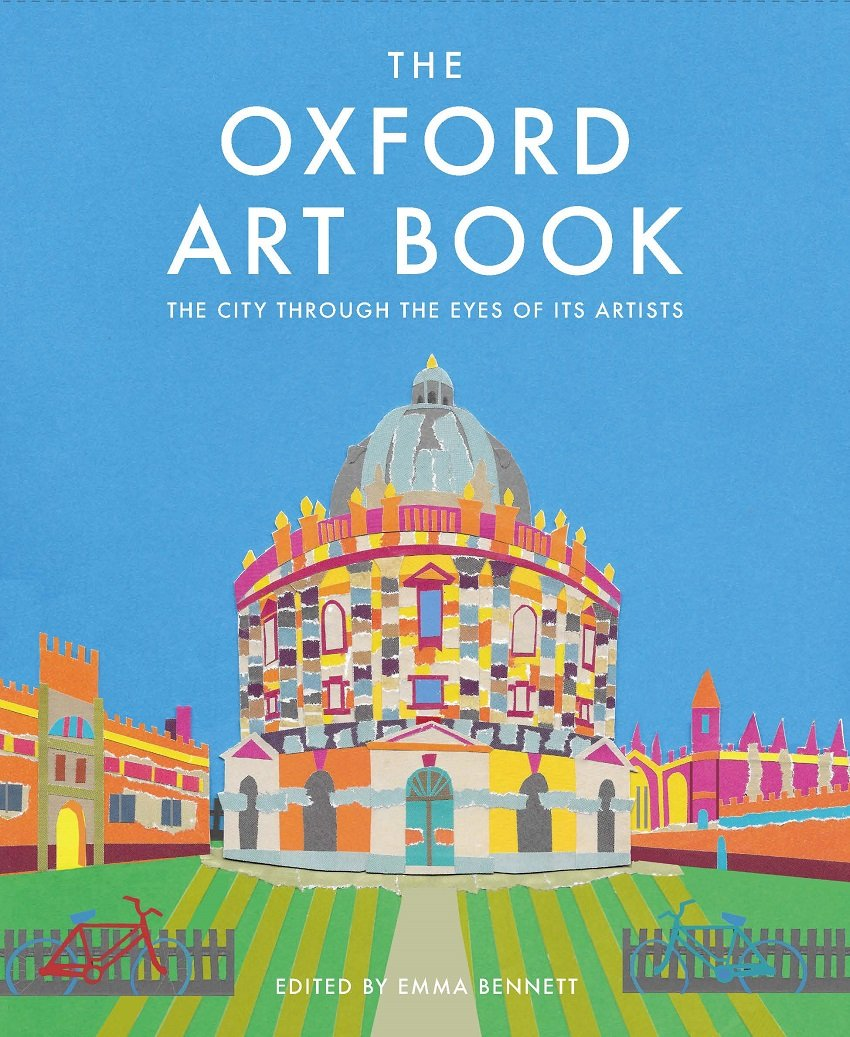 Bright Between the Pages oxford art book cover