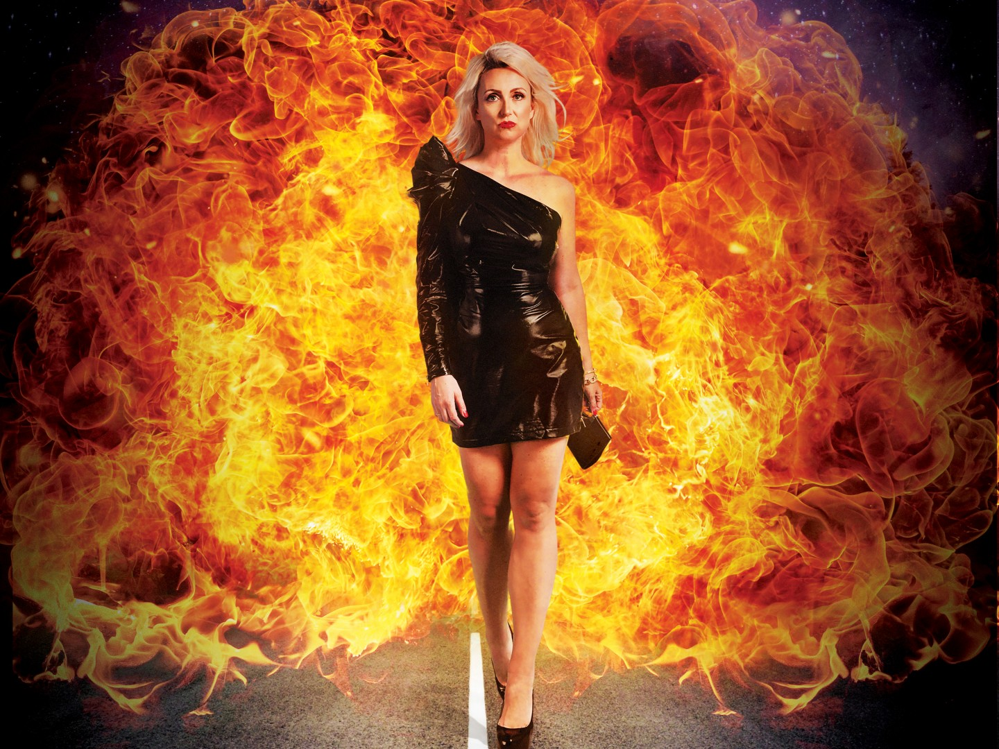 Out From Under the Pile Eleanor Conway Walk of Shame 2 Fire Image