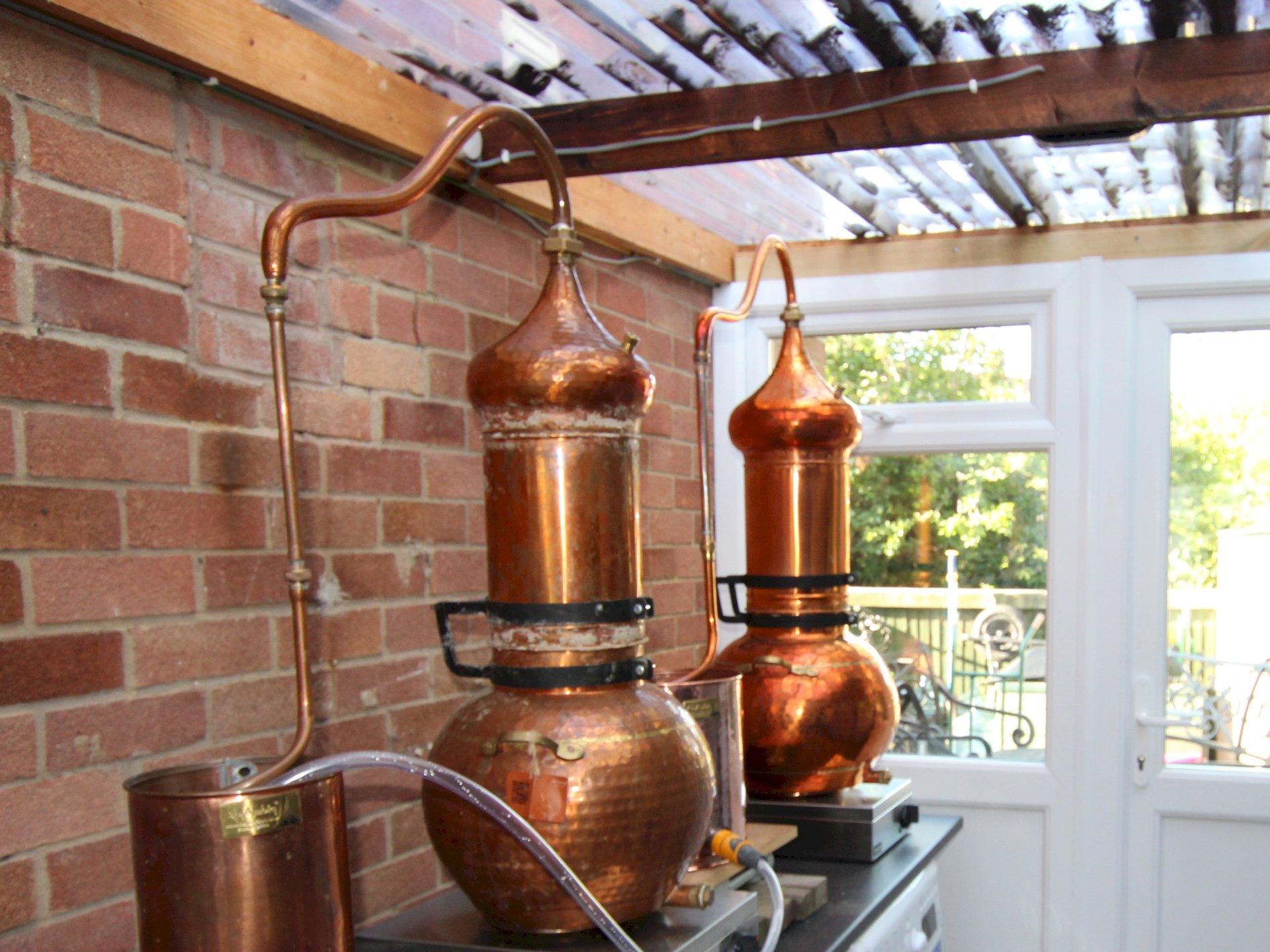 Mother's Ruin Chalgrove Artisan Distillery 2 stills