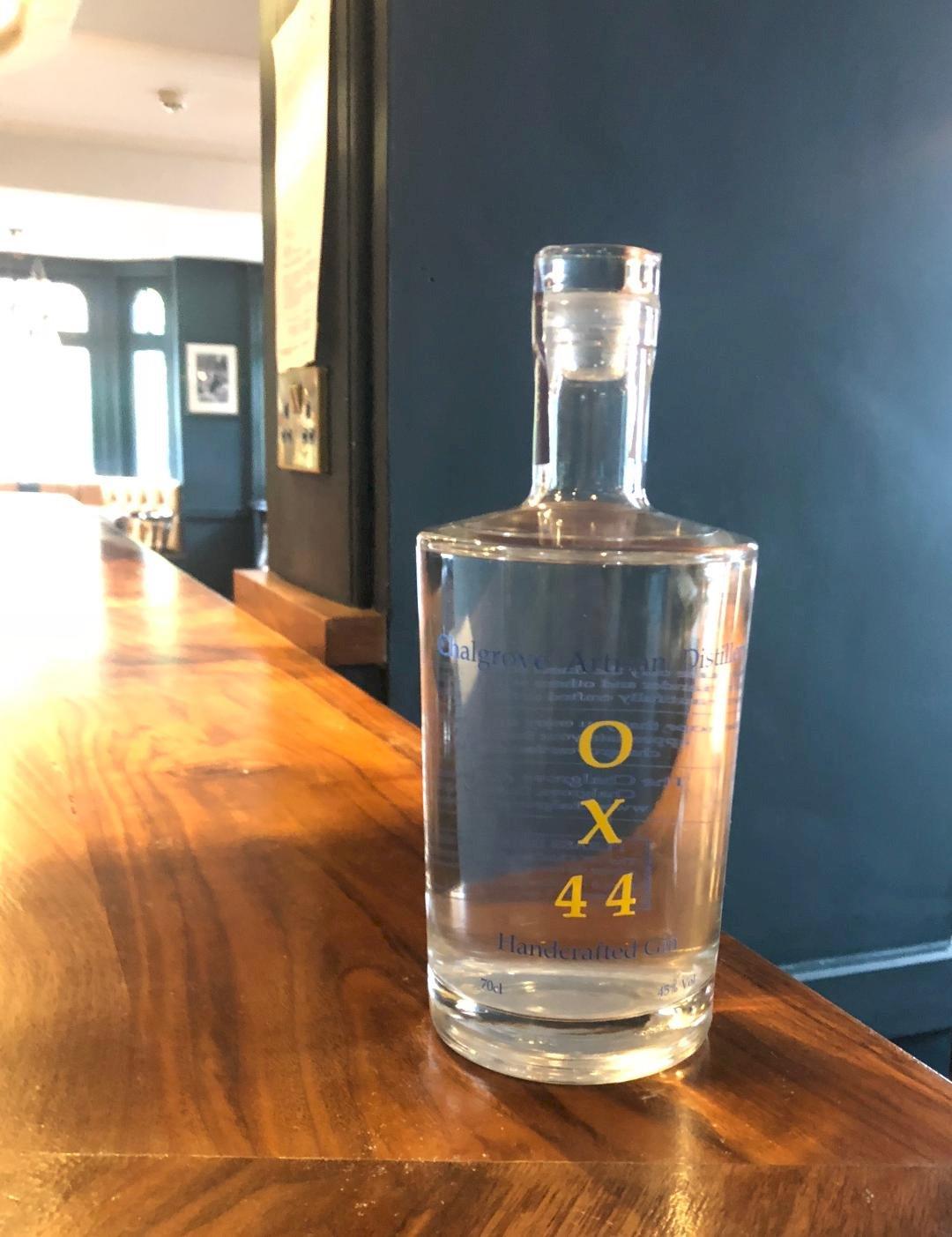 Mother's Ruin Chalgrove Artisan Distillery bottle on bar