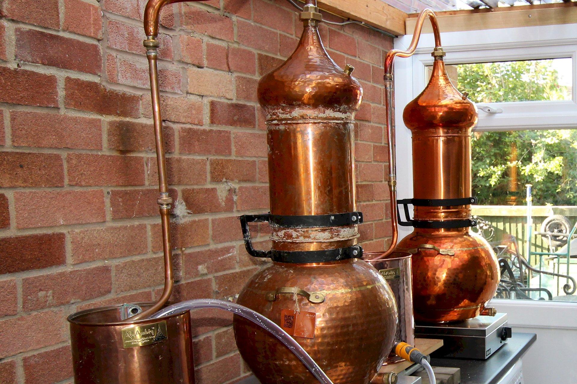 Mother's Ruin Chalgrove Artisan Distillery Still