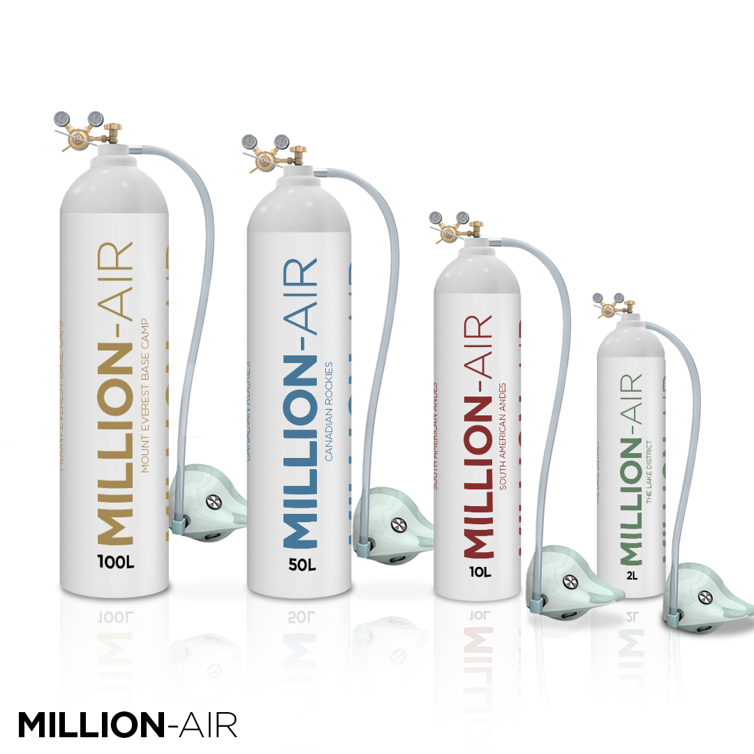 Sizes Million-Air Oxygen