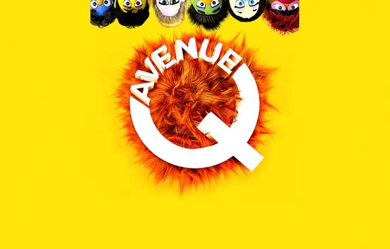 Review Avenue Q Poster Image Yellow