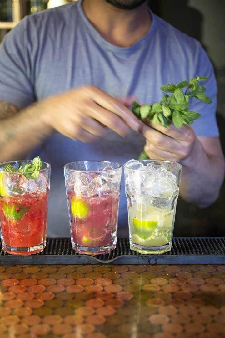 The Coconut Tree Action Shot Cocktails