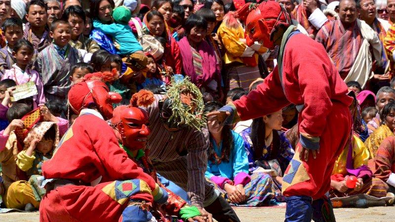 Bhutan Kingdom of the Sky ceremony