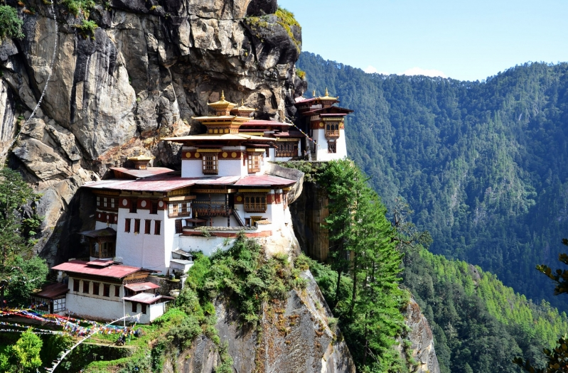 Bhutan Kingdom of the Sky Paro Taktsang close