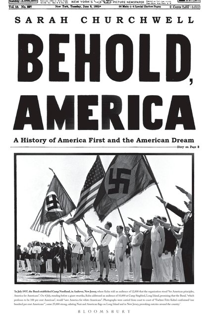 Summer Reads Our Top Picks Behold America Sarah Churchwell Bloomsbury