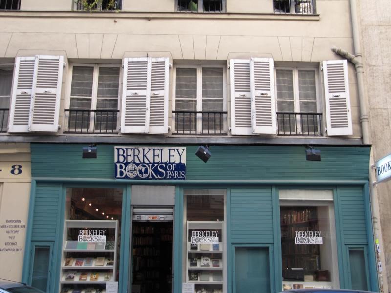 Bookshop Berkeley Books of Paris