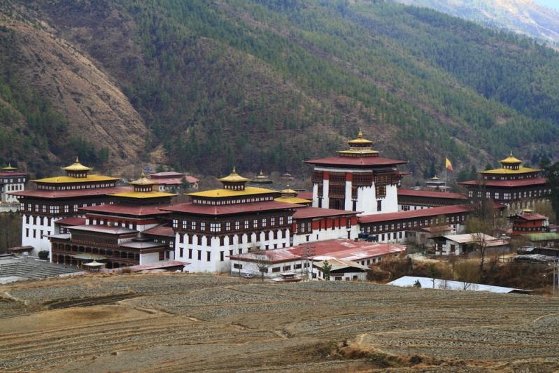Bhutan Kingdom of the Sky Thimpu Monastery