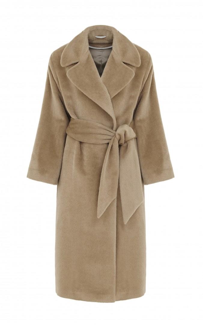 Joanna Lumley Jigsaw J37701  Drape Collar Coat   pound 499
