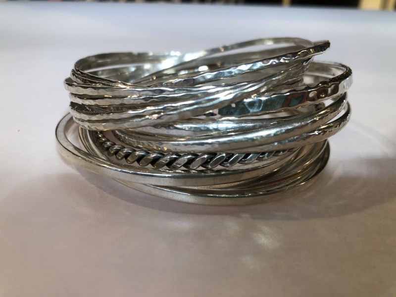 Joanna Lumley Nothing Oxford Covered Market Bangles