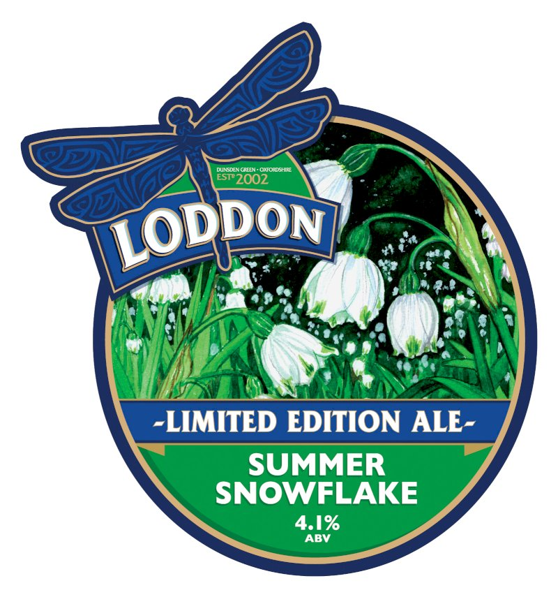 International beer day Summer Snowflake