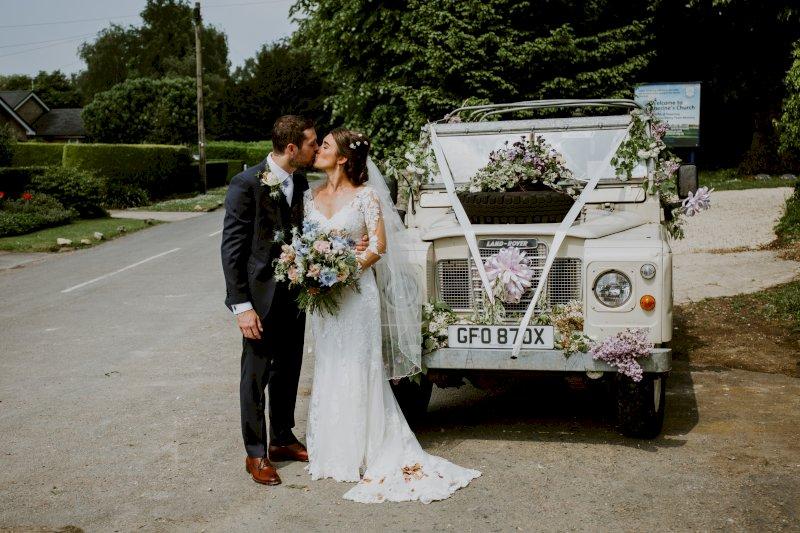 Real Wedding Tim and Viv Wedding Car