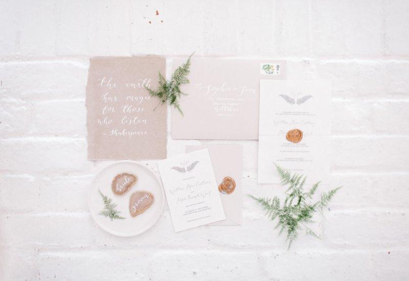 The Autumn Wedding Luxe List White Olive Design