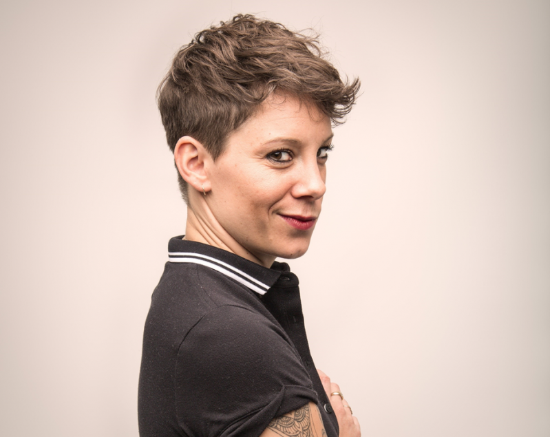 Suzi Ruffell Rationale in the Ridiculous Head Shot