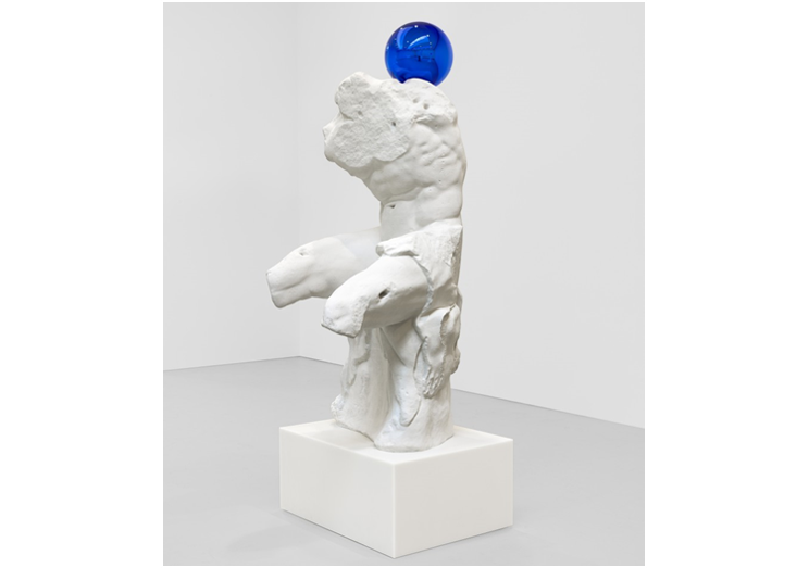 Oxford Unfiltered Jeff Koons Gazing Ball Belvedere Torso