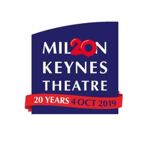 Look Whos Turning 20 Milton Keynes Theatre Logo