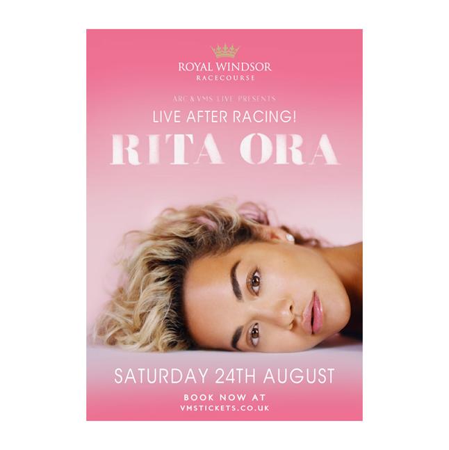 Rita Ora at Royal Windsor Racecourse Poster Image