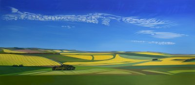 Landscapes of Life Lost in Contemporary Colour Chalk Hill Blue